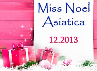 "Fotowettbewerb ""Miss Noel Asiatica 2013"""