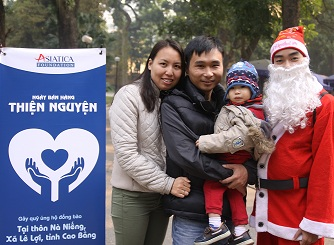 Ngày bán hàng thiện nguyện Asiatica Foundation 2014
