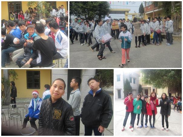 Tết ngập tràn niềm vui với các em bé ở Nam Định
