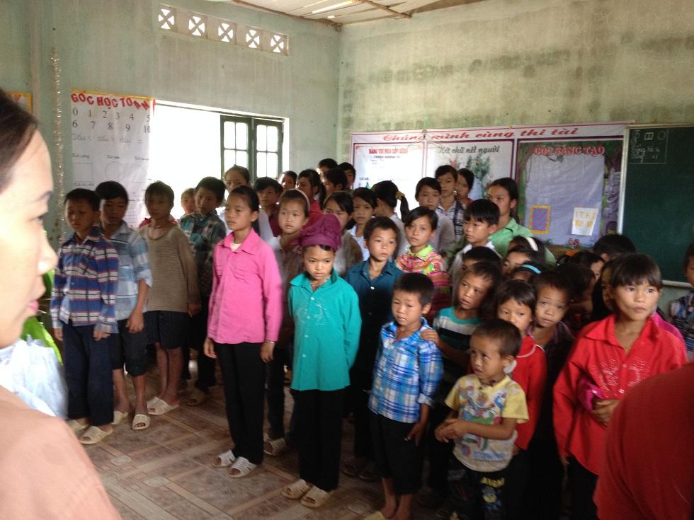 Mỗi ngày đến trường là một ngày vui – Xín Mần, Hà Giang