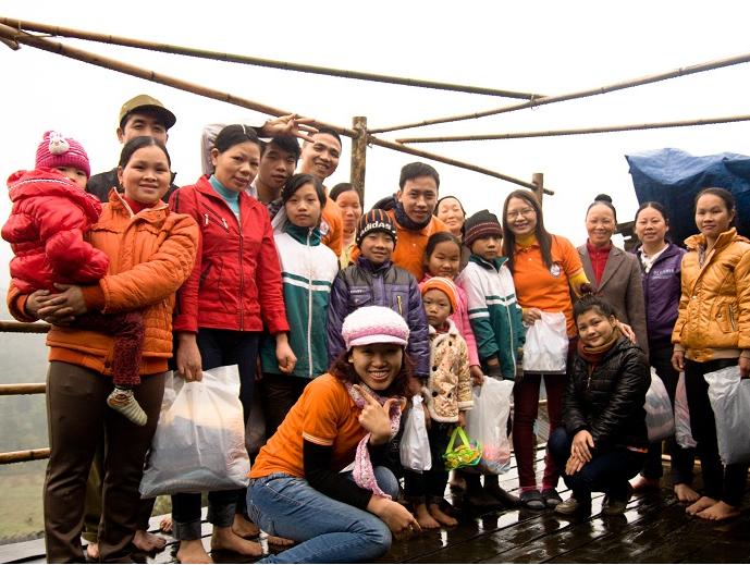 Mùa xuân hạnh phúc tại Pắc Khoang, Cao Bằng, 01/2013