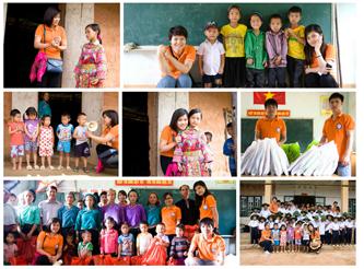 Aiuti per l'inizio del nuovo anno scolastico a Coc Dong, agosto 2014