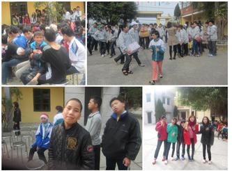La vacanza di Tet è piena di gioia per i bambini disabili a Nam Dinh.
