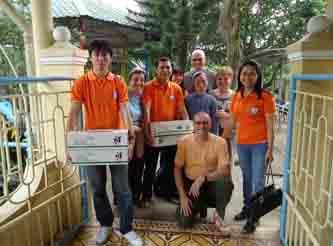 Una bella giornata in monastero di Thuy Bieu (03/01/2013)
