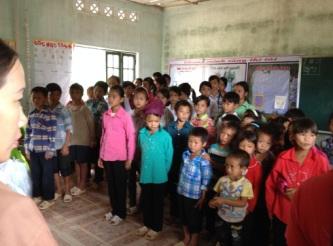 Jeden Tag gerne zur Schule gehen – Zurück zu Coc Dong im August 2014